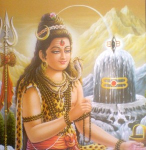 Shiva with his Invention